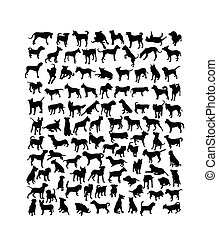 Dog Animal Silhouette