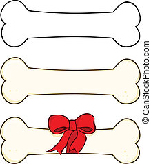 Dog Bone Cartoon 1 Set Collection