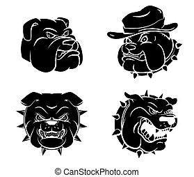 Dog Head Tattoo
