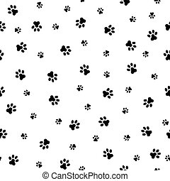 Dog Paw Cat Paw heart love puppy foot print