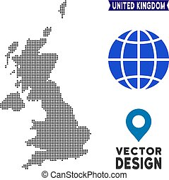 Dot United Kingdom Map