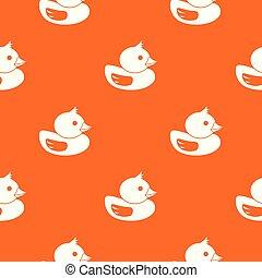 Duck pattern seamless