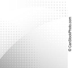Dynamic Grey Background, Vector Illustration