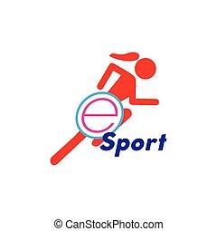 Illustration Vector graphic of e sport logo