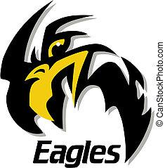 eagles mascot design