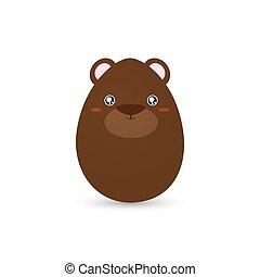 Easter bear Egg