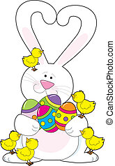 Easter Bunny Love
