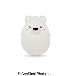 Easter Polar Bear Egg