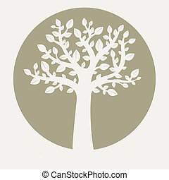Eco Tree, Vector Illustration