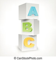 ABC blocks color