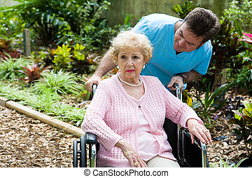 Elderly and Depressed