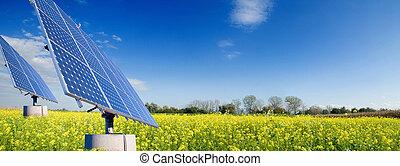 Solar energy for clean environment