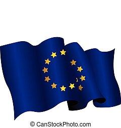 national flag of european