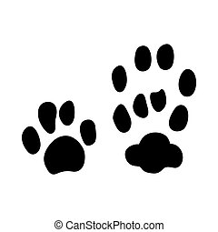 European Wild Cat Footprint