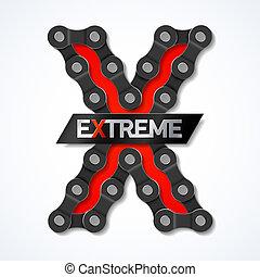 Extreme - bike chain