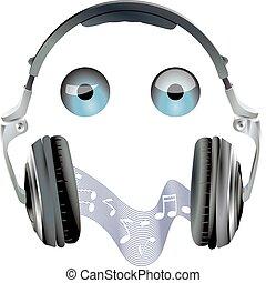 eyes, headset