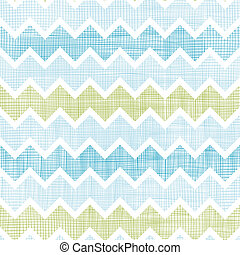 Vector fabric textured chevron stripes seamless pattern background with hand drawn elements