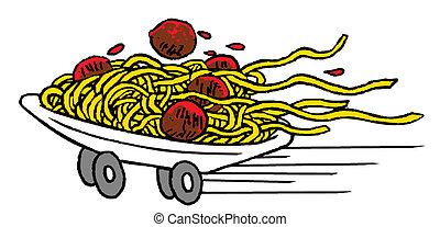 Italian food on wheels