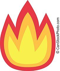 Fire Flame Icon Symbol