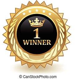 First place gold award.