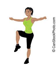 fitness women exercise