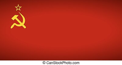 Flag of the Soviet Union.