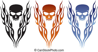 A great tattoo or decal design.