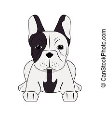french bulldog icon