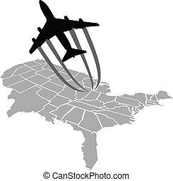 Flight Over America