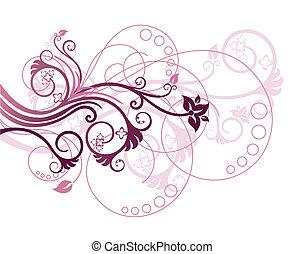 Floral design element 1