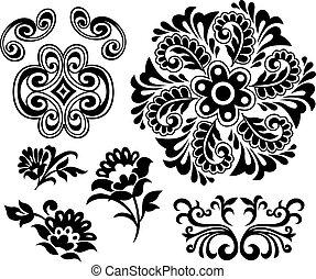 floral element design