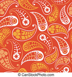 Floral seamless pattern with flowers.
