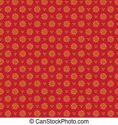 Flourish seamless pattern.