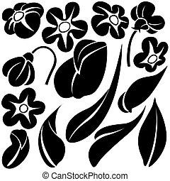 Flower elements C