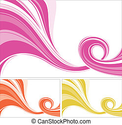 abstract flowing lines background.