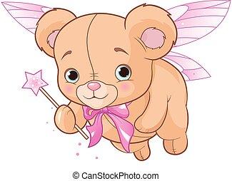 Flying Teddy Bear