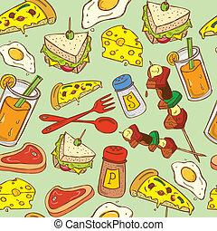 food background pattern