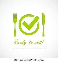Food safety vector icon