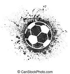 Football grunge background