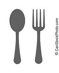 fork and spoon cutleries