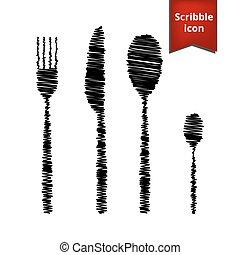 Fork spoon knife
