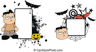 Frankenstein kid halloween2