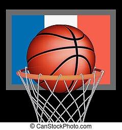 French basket ball