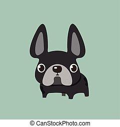 french bulldog design.