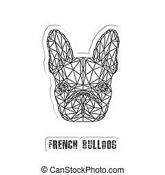 Funny domestic animal. Vector illustration.