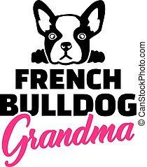 French Bulldog Grandma