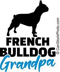 French Bulldog Grandpa