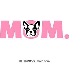 French Bulldog Mom