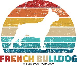French Bulldog vintage