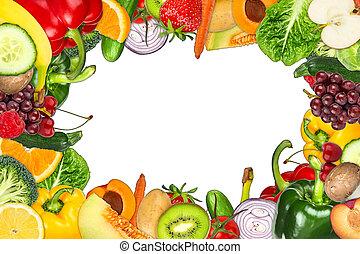 fruit and vegetable frame
